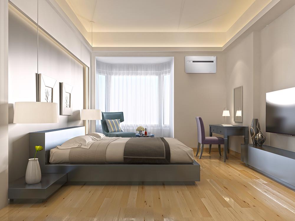 Klimagerät x-one im Einsatz in einem Hotel