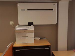 Referenzobjekt im Büro