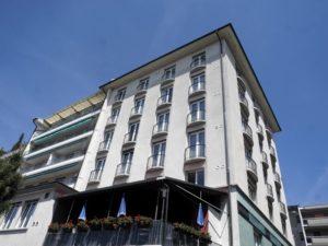 Referenzobjekt Hotel Bellerive Lausanne Aussenansicht